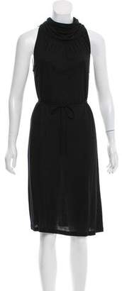 Tomas Maier Belted Knee-Length Dress