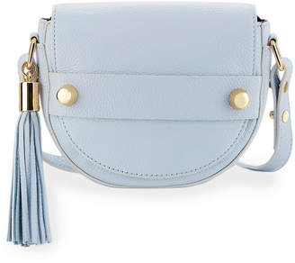 Milly Astor Small Saddle Crossbody Bag