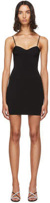 Alexander Wang Black Bra Cup Dress