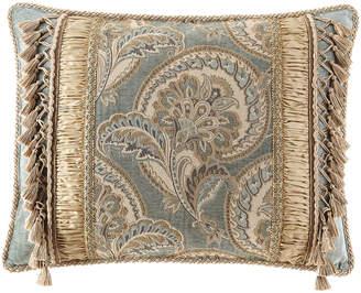 Dian Austin Couture Home Willette Pieced Standard Sham with Tassels
