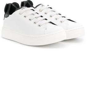 Moschino Kids novelty heel sneakers