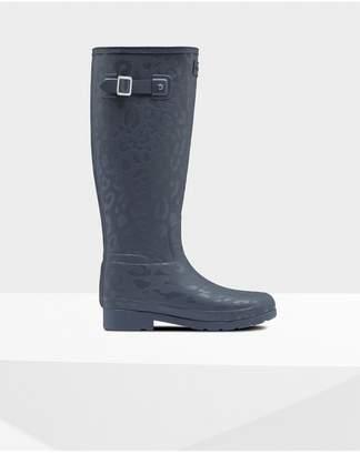 Hunter Womens Refined Insulated Slim Fit Tall Rain Boots