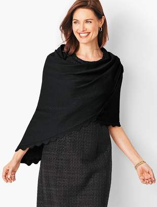 Talbots Triangle Wrap