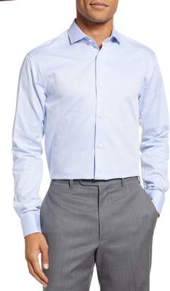 Tiger of Sweden Farrell Trim Fit Solid Dress Shirt