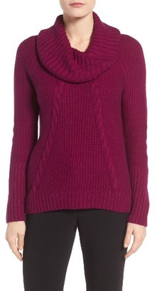 Women's Ivanka Trump Cowl Neck Sweater $79 thestylecure.com