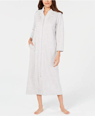 Miss Elaine Embroidered Quilt-In Zip Robe