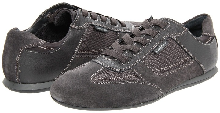 Calvin Klein Carey (Dark Charcoal Action) - Footwear