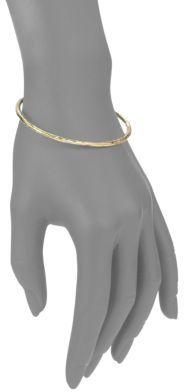 Ippolita Glamazon 18K Yellow Gold #1 Bangle Bracelet