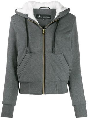 Moose Knuckles zip up hoodie