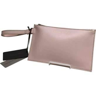 Ermanno Scervino Pink Leather Clutch Bag