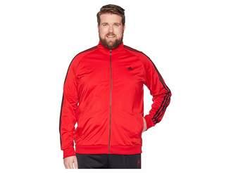 adidas Big Tall Essentials 3-Stripes Tricot Track Jacket