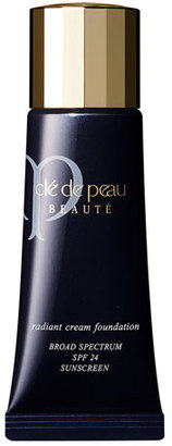 Cle De Peau Radiant Cream Foundation SPF 24, 0.7 oz. $125 thestylecure.com