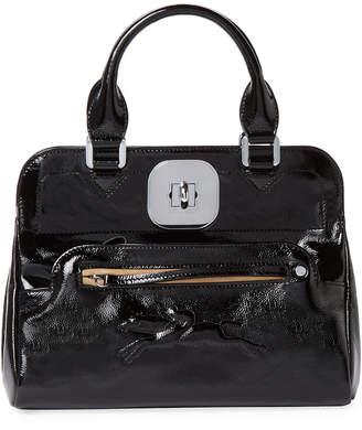 Longchamp Gatsby Small Patent Convertible Tote