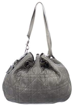 Christian Dior Cannage Drawstring Bag