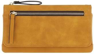 Accessorize Appleton Wallet Purse - Yellow Ochre