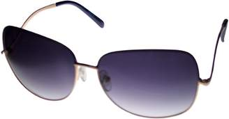 Kenneth Cole Reaction Square Gold Metal Sunglass KC1191 33W