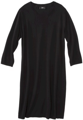 Mossimo Women's Plus-Size Long-Sleeve Sweater Dress - Assorted Colors