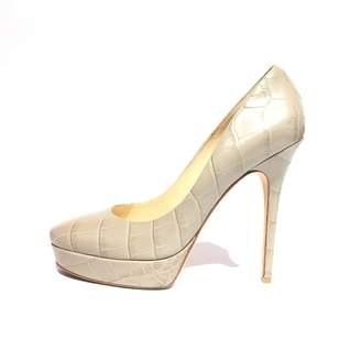 Jimmy Choo Leather Heels