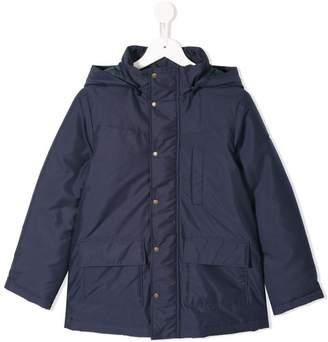 Familiar hooded padded coat