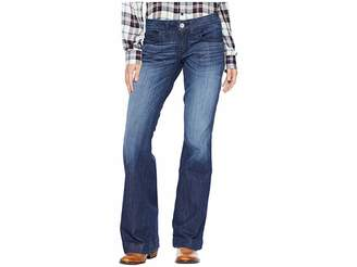 Ariat Trouser Half Moon Jeans in Chill Blue