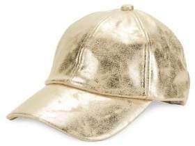 Steve Madden Faded Metallic Baseball Cap