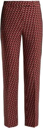 Etro Violante slim-leg stretch-wool trousers