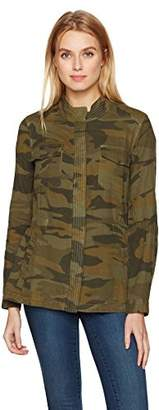 Splendid Women's Double Cloth Camo Jacket