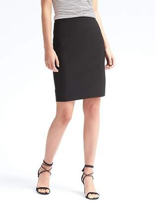 Banana Republic High-Waisted Lightweight Wool Pencil Skirt