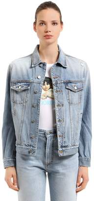 Fiorucci Nico Distressed Denim Trucker Jacket