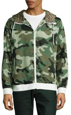 Standard Issue NYC Camouflage Drawstring Windbreaker