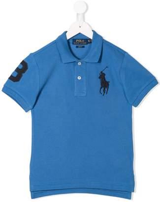 Ralph Lauren Kids embroidered logo poloT-shirt