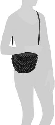 Beaded Crossbody With Zipper Closure
