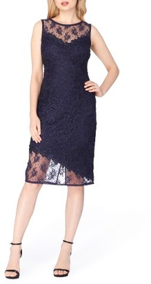 Women's Tahari Lace Sheath Dress $158 thestylecure.com