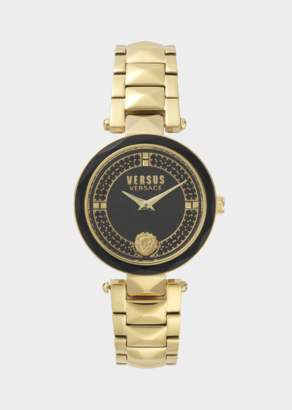 Versus Golden Covent Garden Crystal Watch