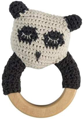 Sebra Crochet Panda Ring Rattle