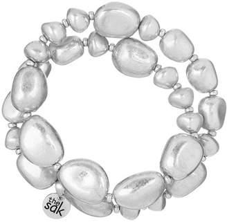 The Sak Beaded Stretch Wrap Bracelet