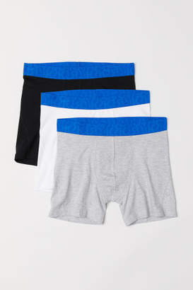 H&M 3-pack Boxer Shorts - Blue