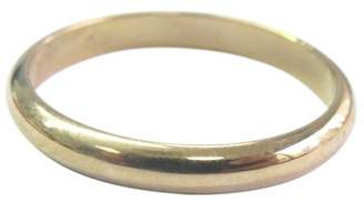 Cartier 18K Yellow Gold Classic Wedding Band Ring Size 5.25