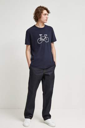 French Connenction Bike Embroidered T-Shirt