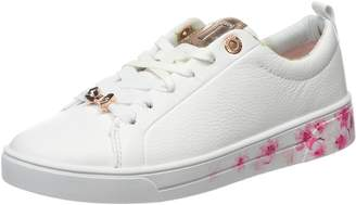 Ted Baker Womens White Kelleip Sneakers-UK 3