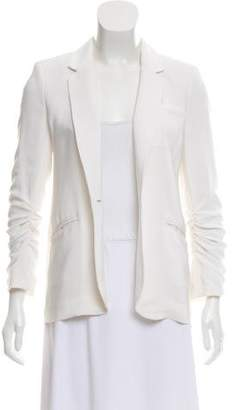 Elizabeth and James Tailored Open Front Blazer