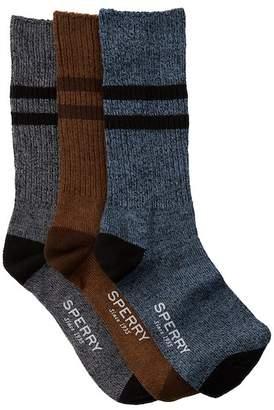Sperry Boot Crew Socks - Pack of 3