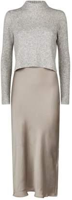 AllSaints Tierny Sweater and Slip Dress