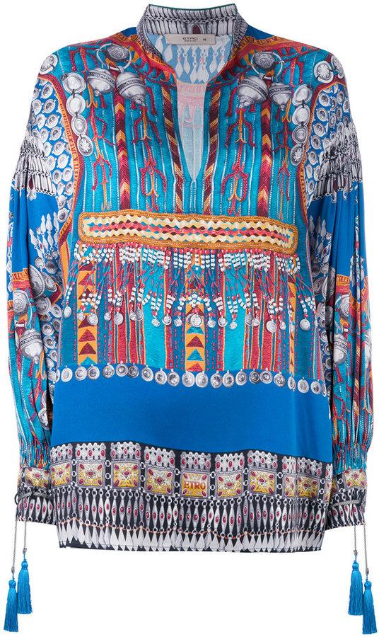 EtroEtro printed tunic