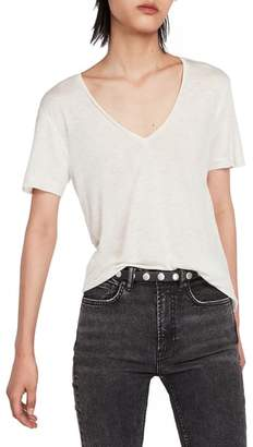 AllSaints Emelyn Metallic Tee