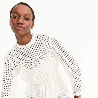 Point Sur eyelet top