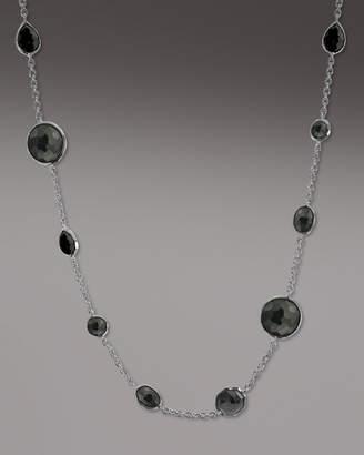 Ippolita Wonderland Lollipop Necklace, Onyx