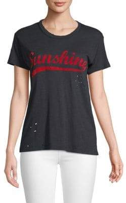 Zadig & Voltaire Walk Sunshine Short-Sleeve Tee