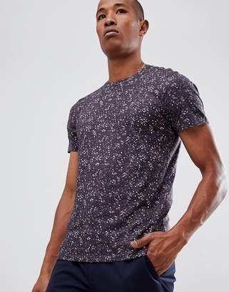 Selected T-Shirt With All Over Floral Print