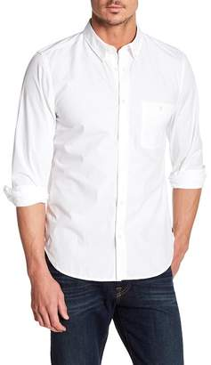 7 For All Mankind Long Sleeve Oxford Regular Fit Shirt